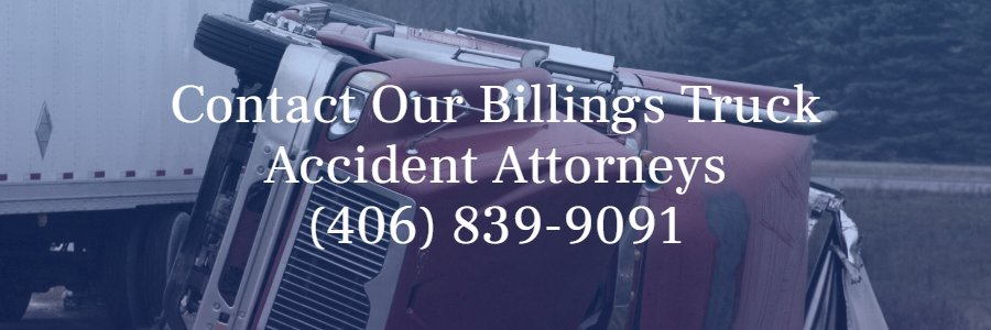 Semi truck crash lawyer Billings