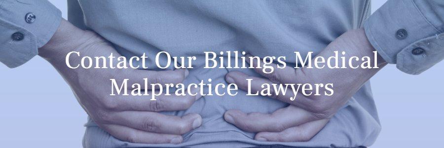 Billings medical malpractice lawyers